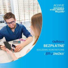 Acuvue: odbierz soczewki w CC Optyk